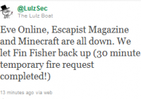 [Updated] Hackers Strike Again: EVE online, Minecraft, and Escapist Magazine Down