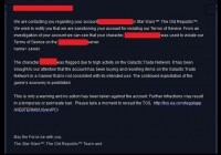 SWTOR: Banned For Going to Zones Above Your Level?